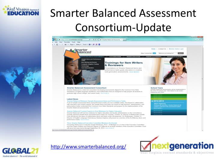 Smarter Balanced Assessment Consortium-Update