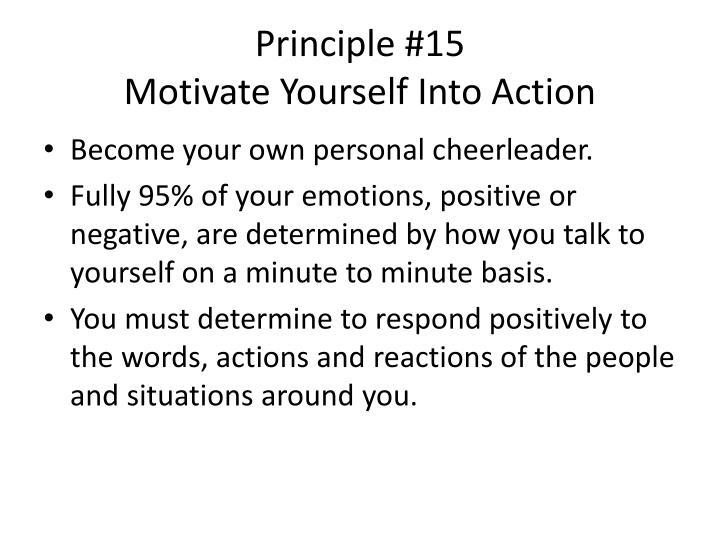 Principle #15