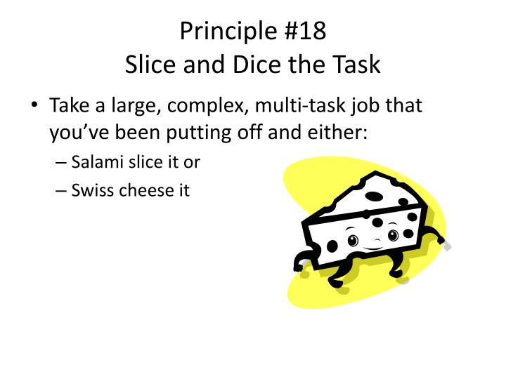 Principle #18