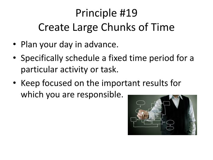 Principle #19