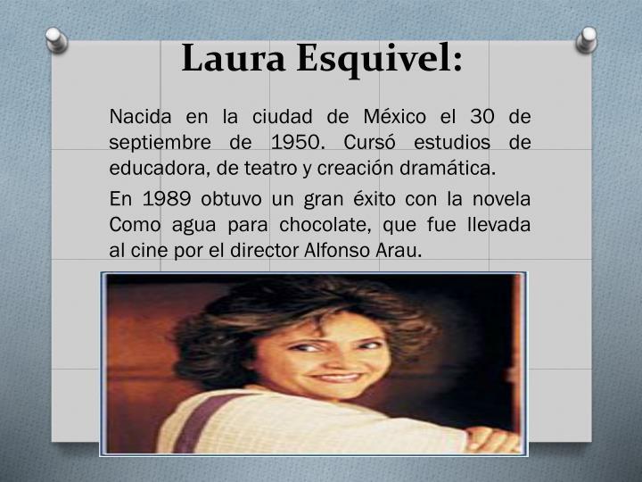 Laura Esquivel: