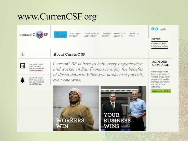 www.CurrenCSF.org