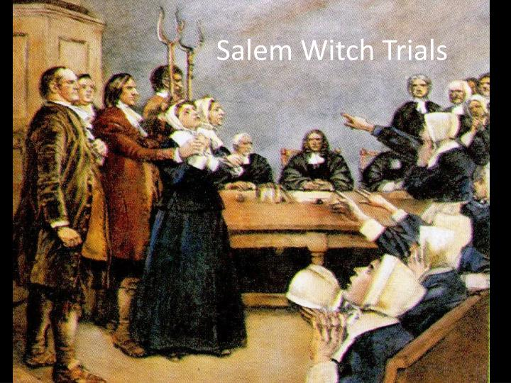 a history of the witchcraft hysteria in the 17th century