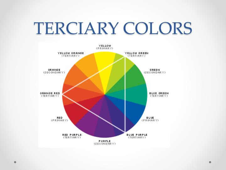 TERCIARY COLORS