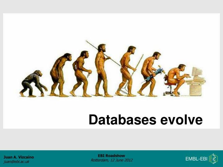 Databases evolve