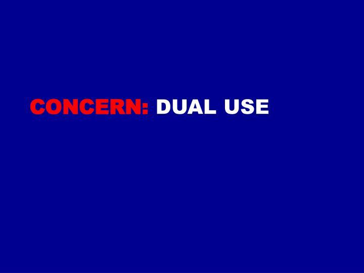 Concern:
