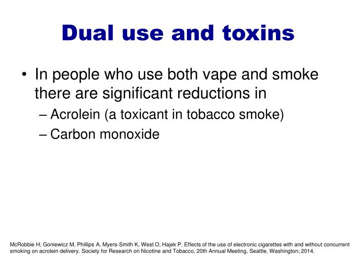 Dual use and toxins