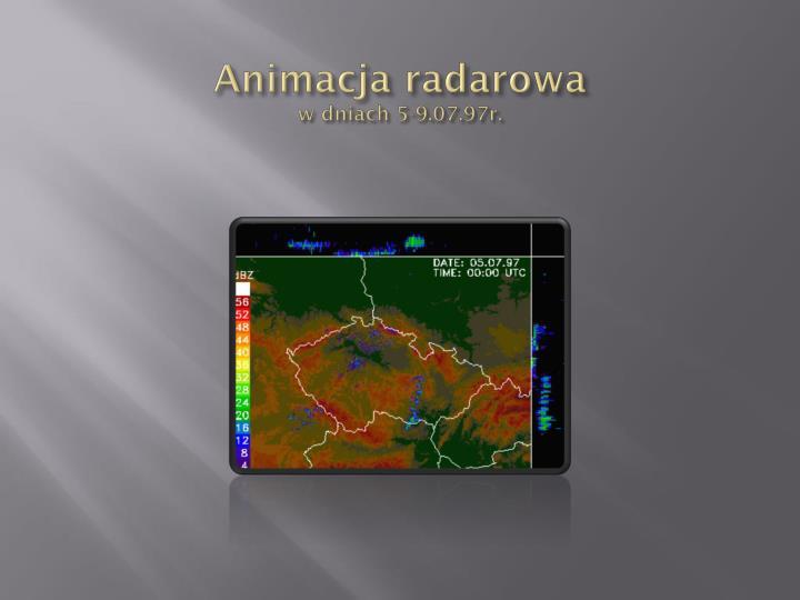 Animacja radarowa