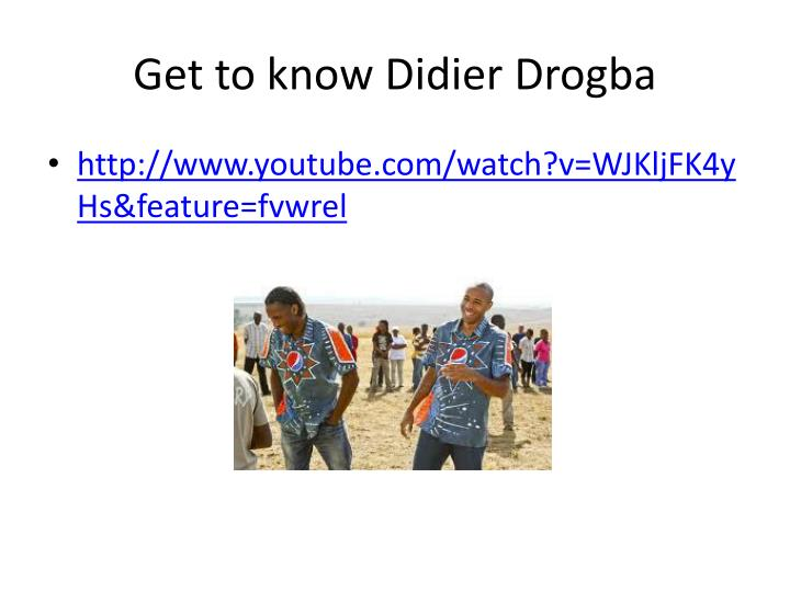 Get to know Didier