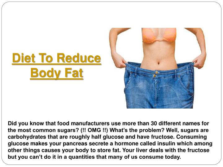 Diet To Reduce Body Fat