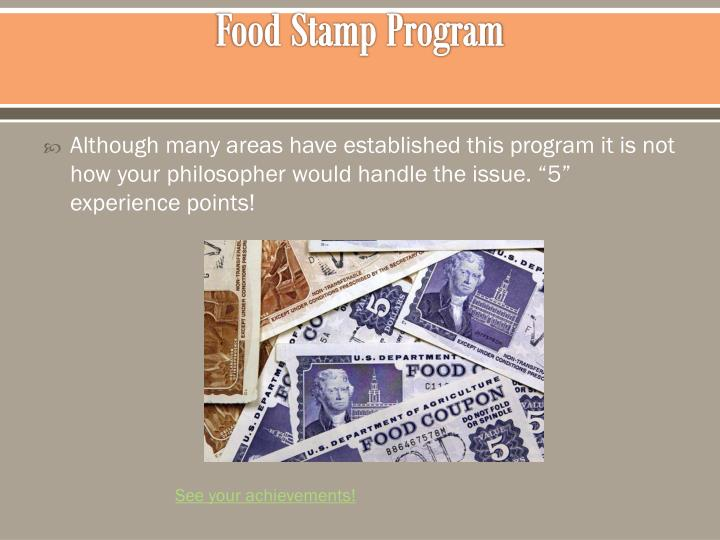 Food Stamp Program