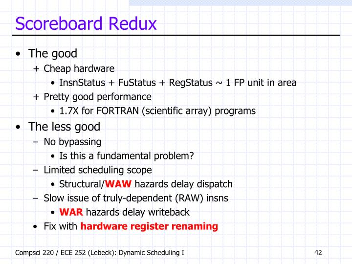 Scoreboard Redux