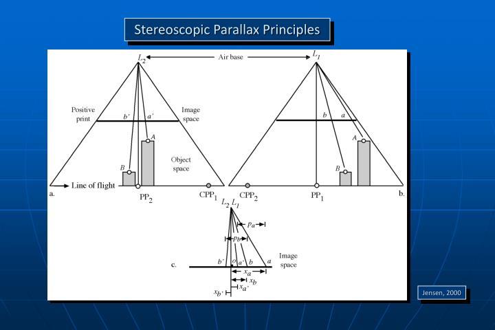 Stereoscopic Parallax Principles