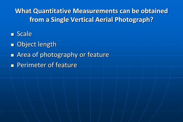What Quantitative