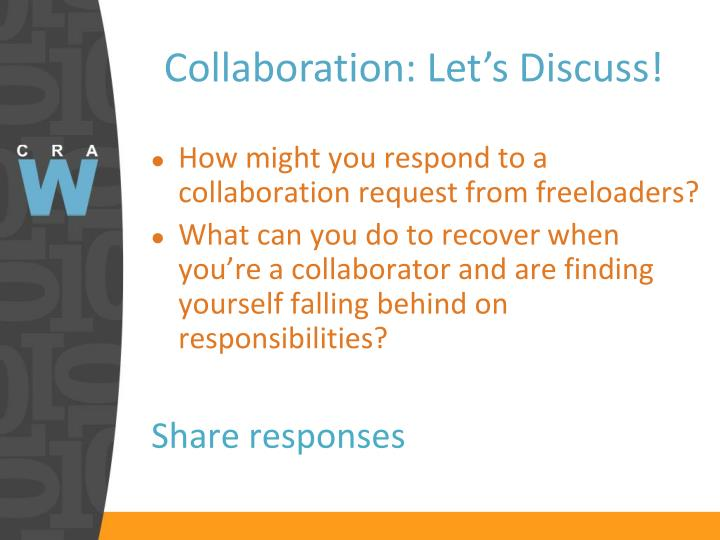 Collaboration: