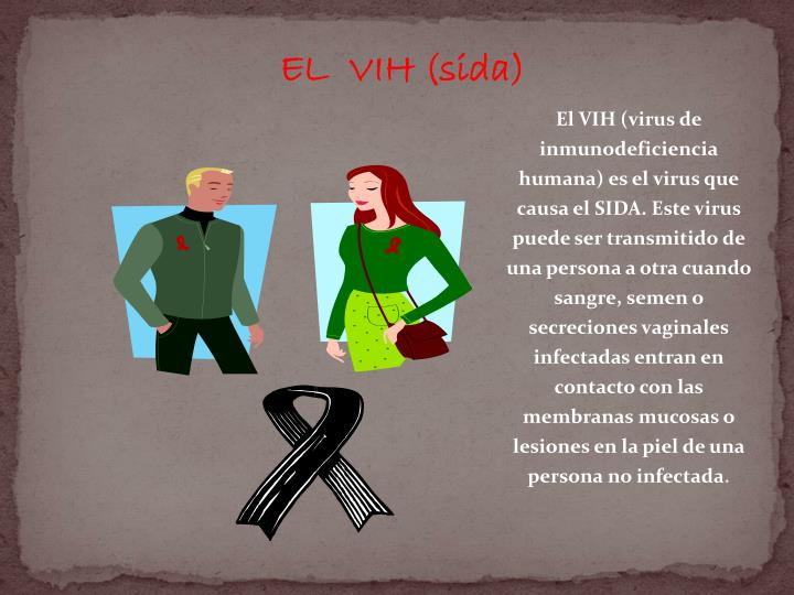 EL  VIH (sida)