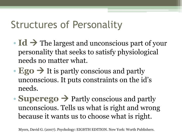 Structures of personality