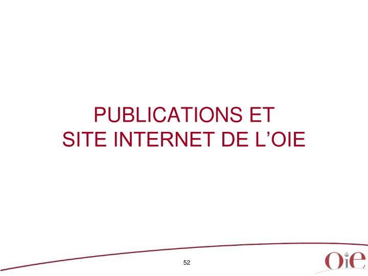PUBLICATIONS ET