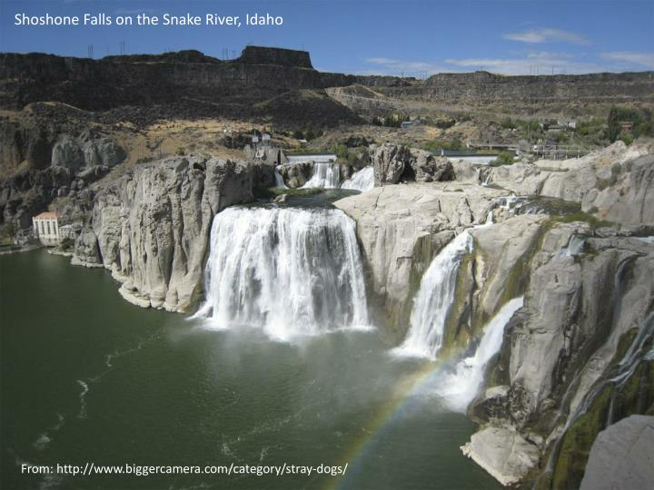 Shoshone Falls on the Snake River, Idaho