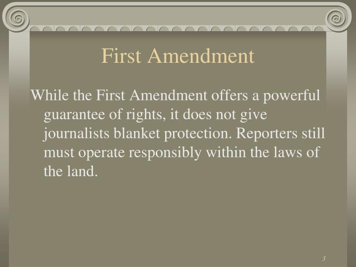 First amendment1