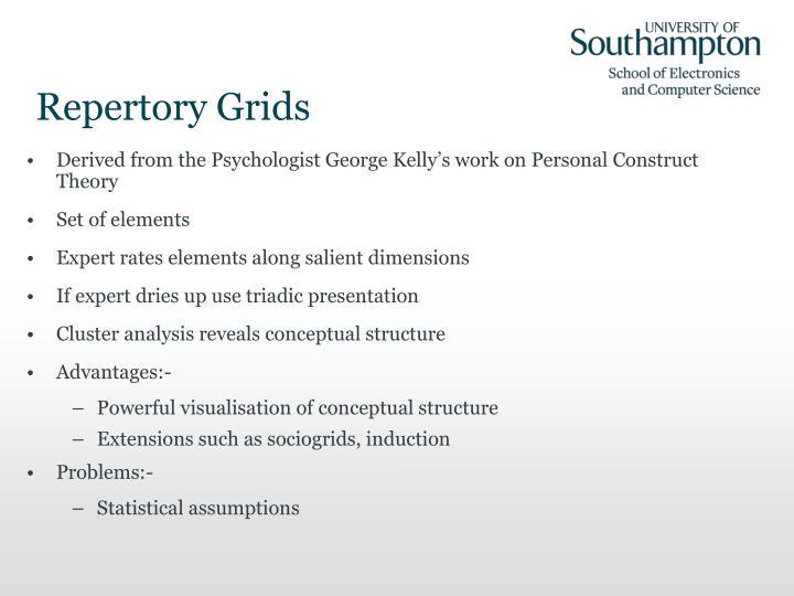 Repertory Grids