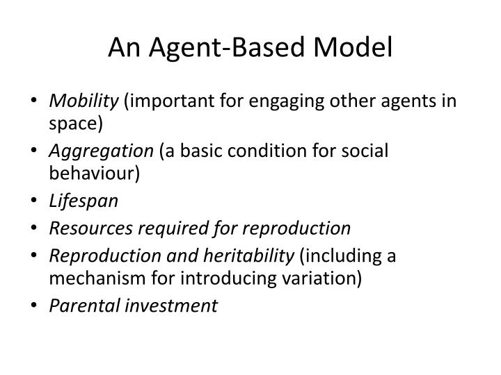 An Agent-Based Model
