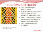 customs religion