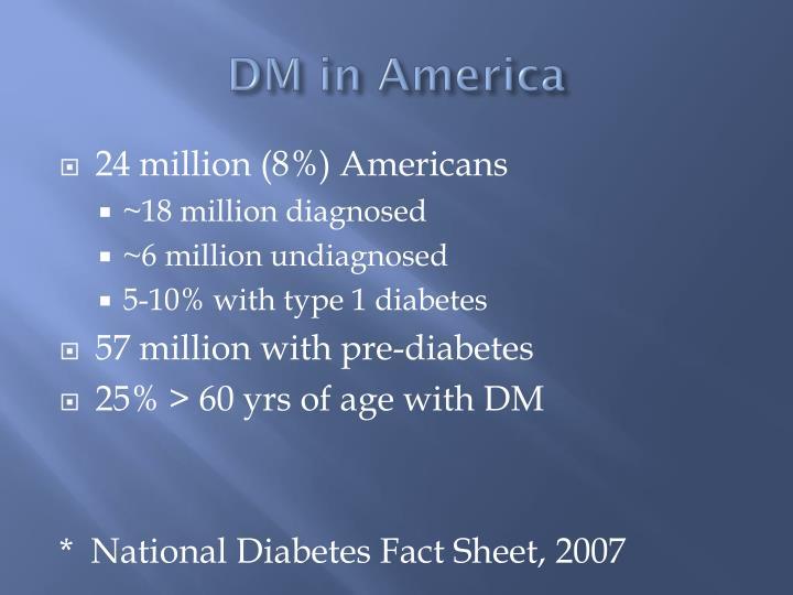 DM in America