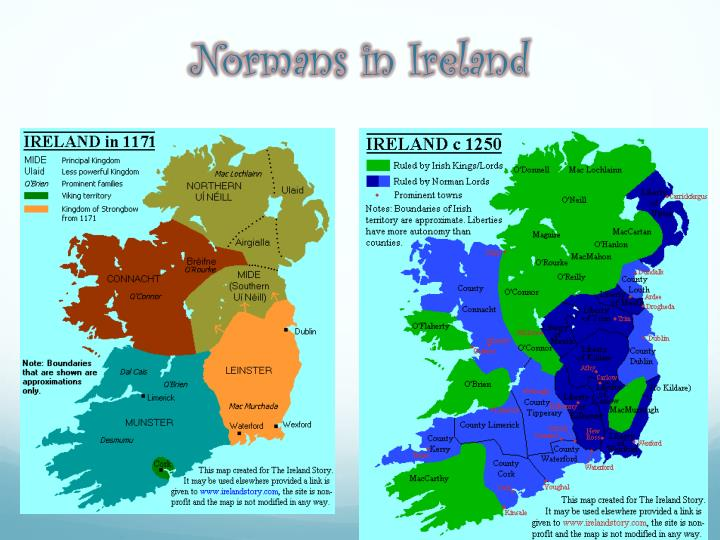 Normans in Ireland