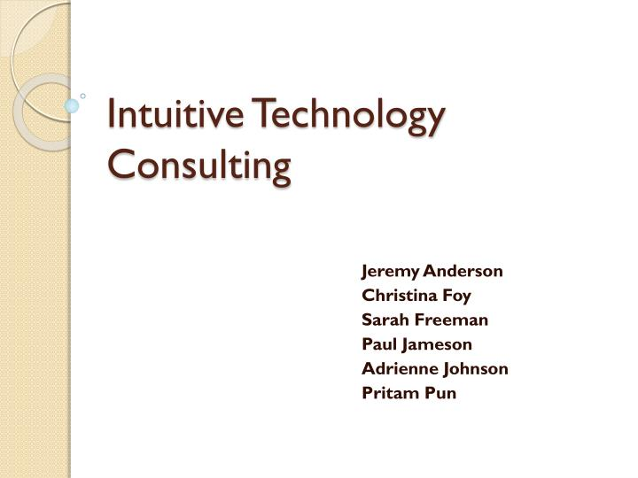 Intuitive Technology Consulting