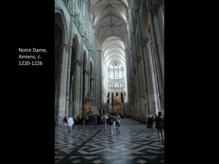 Notre Dame, Amiens, c. 1220-1226
