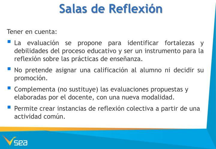 Salas de Reflexión