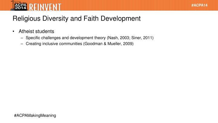Religious Diversity and Faith Development
