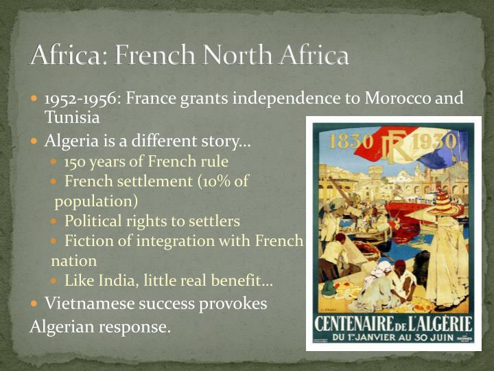 Africa: French North Africa