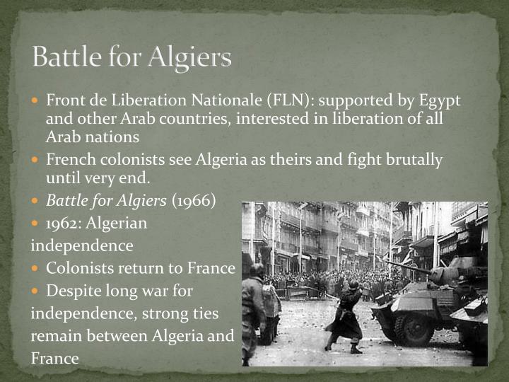 Battle for Algiers