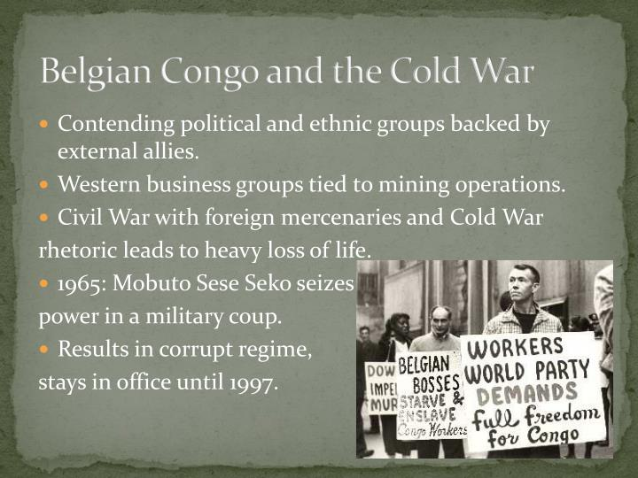 Belgian Congo and the Cold War