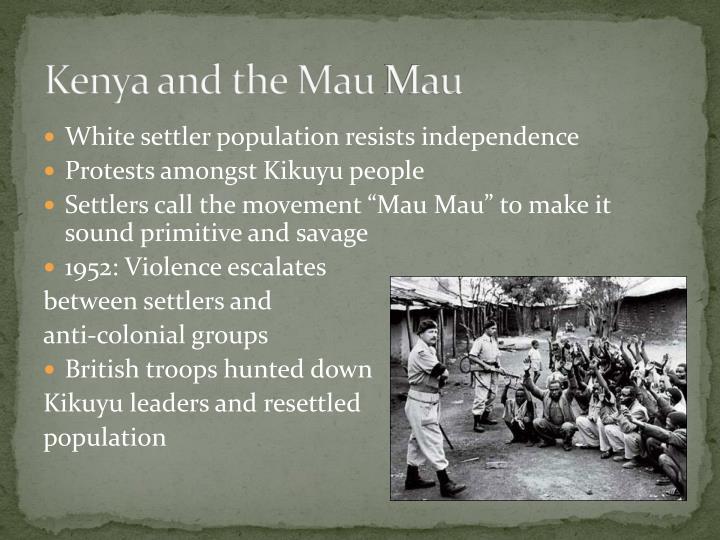 Kenya and the Mau