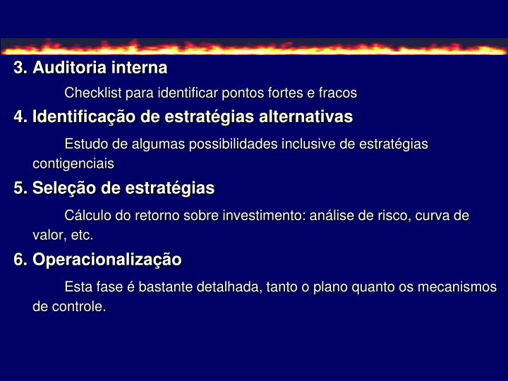 3. Auditoria interna