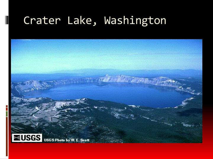 Crater Lake, Washington