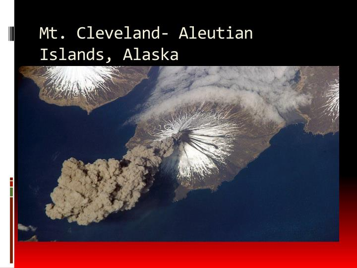 Mt. Cleveland- Aleutian Islands, Alaska