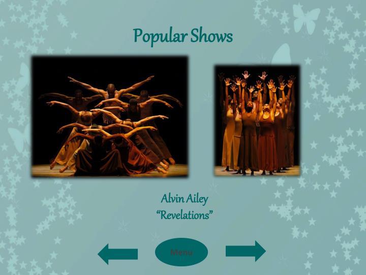 Popular Shows