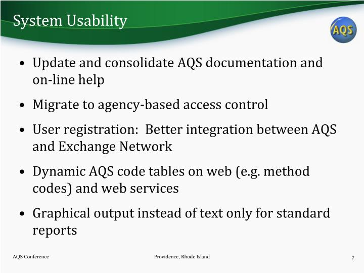 System Usability