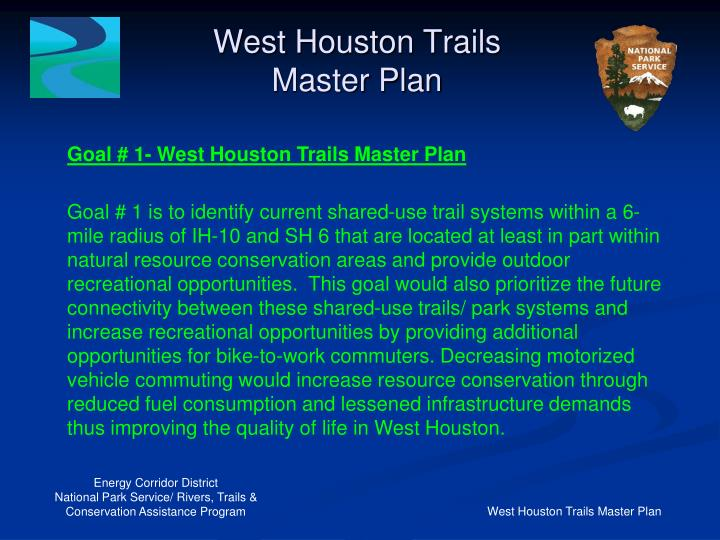West Houston Trails