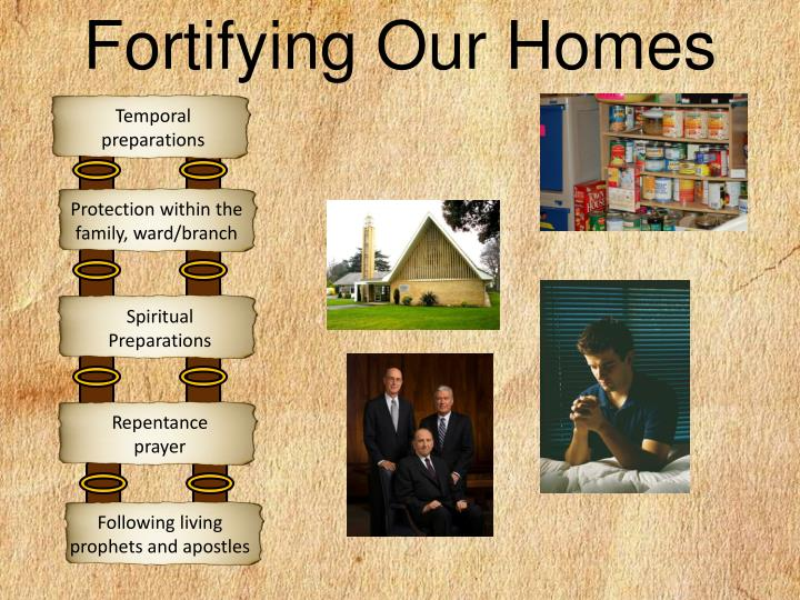 Fortifying Our Homes