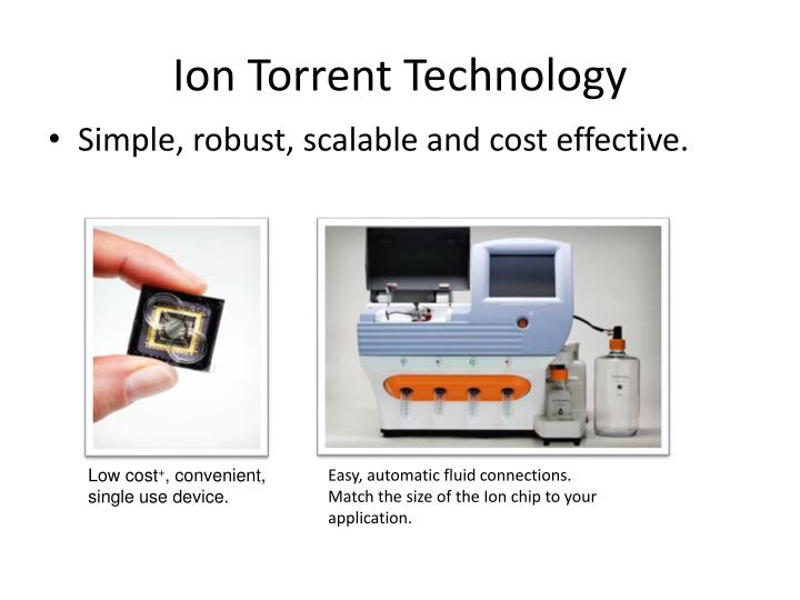 Ion Torrent Technology
