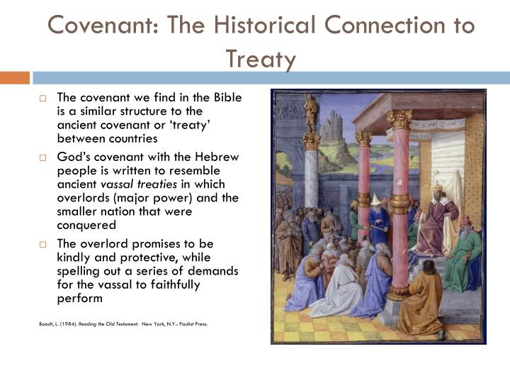 Covenant: The Historical Connection to Treaty