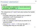 processor abstraction
