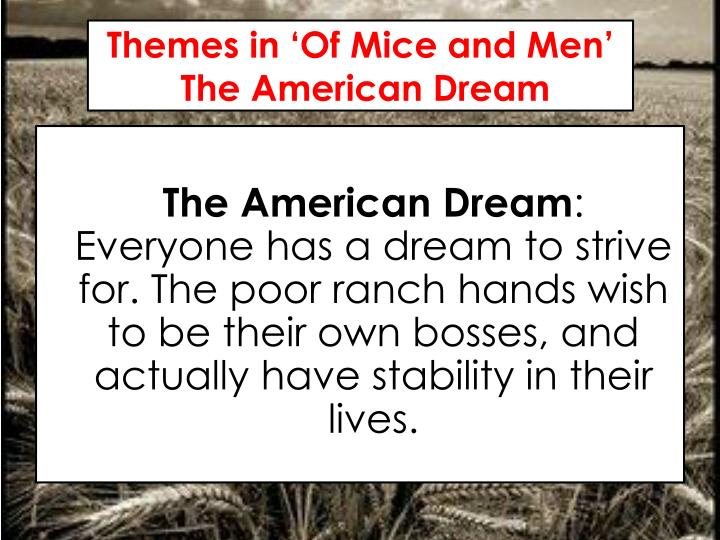violence in of mice and men by john steinbeck essay How does steinbeck present the theme of violence in 'of mice and men john steinbeck short novel 'of mice and men' presents the desolate nature of sass america, in particular caseload, close to where steinbeck himself grew.