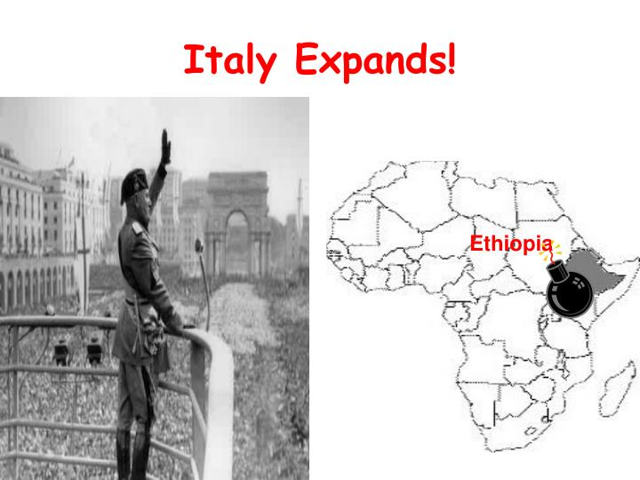 Italy Expands!