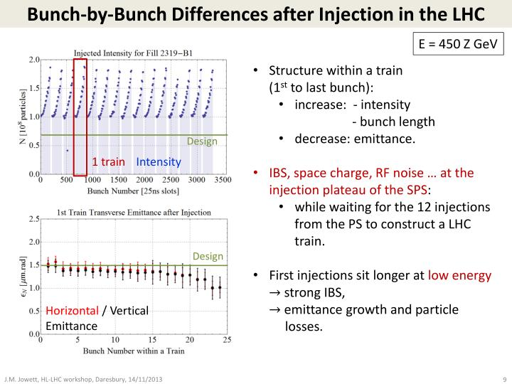 Bunch-by-Bunch Differences after Injection in the LHC